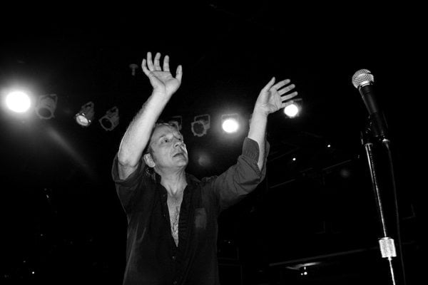 David Yow of The Jesus Lizard on stage. Photo: PJ Sykes.