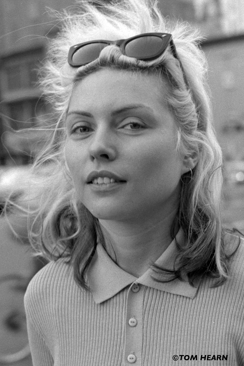 Debbie Harry from Blondie 1977 NYC