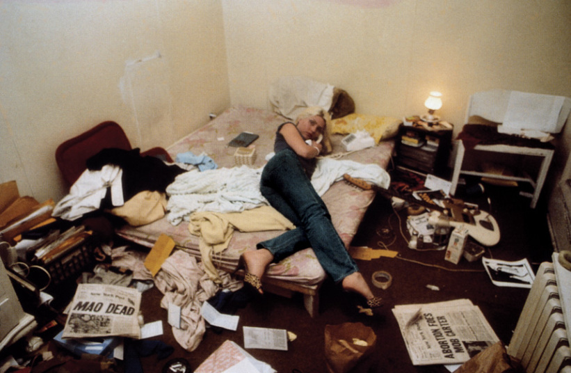 Debbie Harry in loft on the Bowery. Photo by Chris Stein