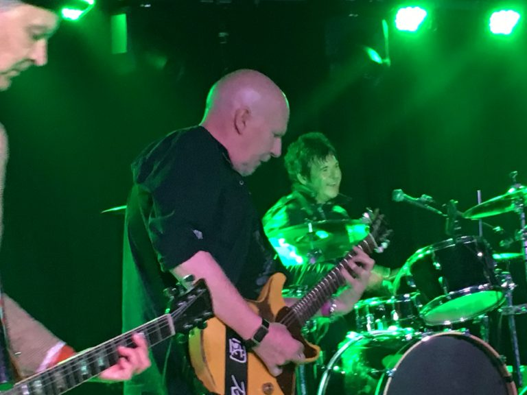 Cheetah Chrome and Clem Burke