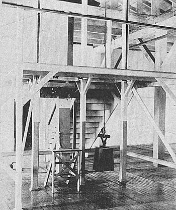 The Gallows.Courtesy of Anne T. Kent California Room, Marin County Free Library