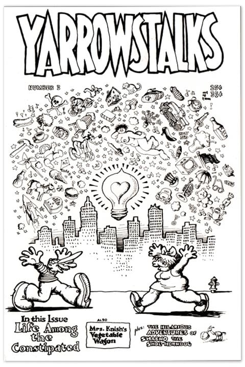 Cover of Yarrowstalks #3
