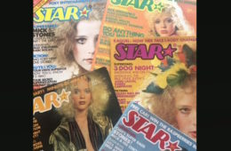 Star covers by Jean Pagliuso. From the Groupie Archives of Lucretia Tye Jasmine